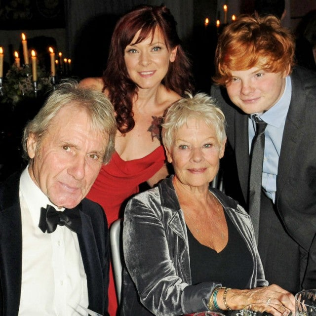 Judi Dench and family