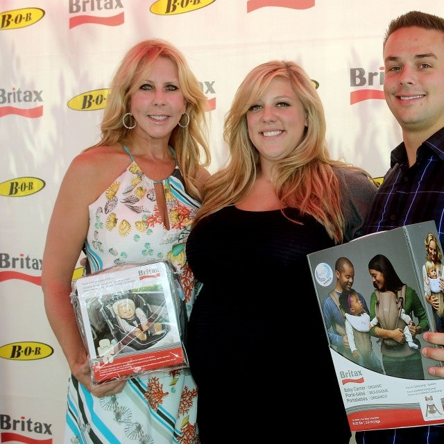'RHOC' star Vicki Gunvalson with daughter Briana Culberson and Briana's husband, Ryan Culberson.