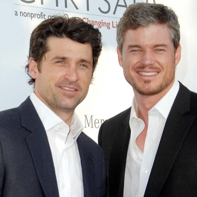 Patrick Dempsey and Eric Dane during Sixth Annual Chrysalis Butterfly Ball