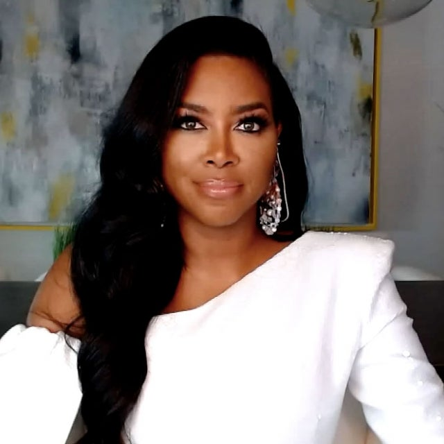 Kenya Moore at the 'Real Housewives of Atlanta's virtual reunion
