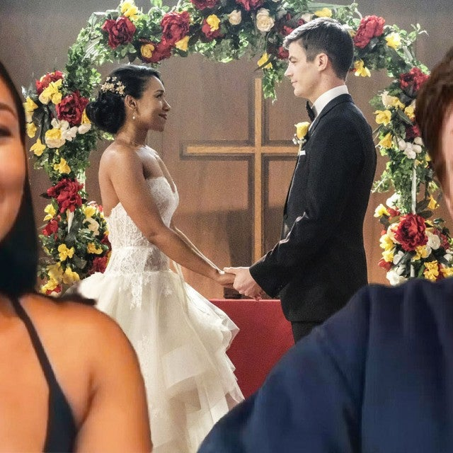 'The Flash': Grant Gustin and Candice Patton Dish WestAllen Secrets!