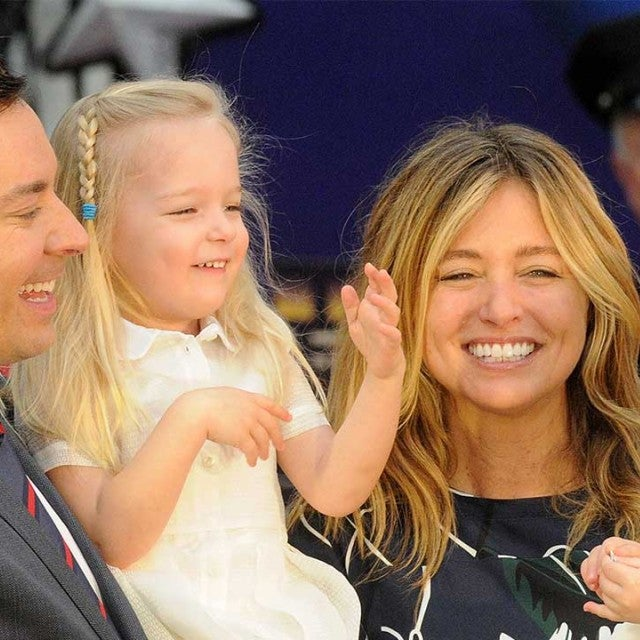 Jimmy Fallon and family