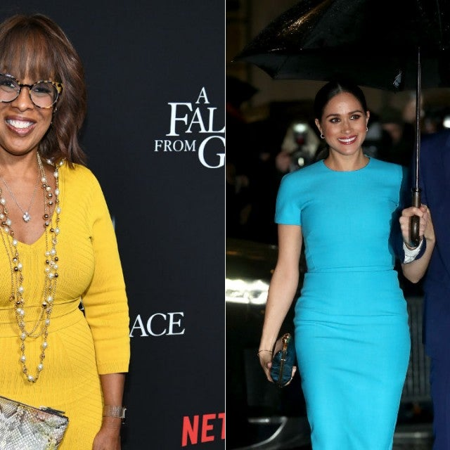 Gayle King, Meghan Markle, and Prince Harry