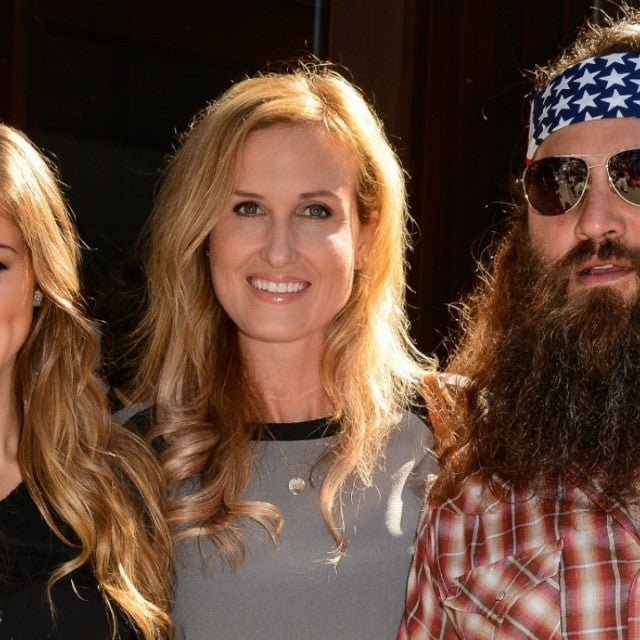 Sadie Robertson Korie Robertson and Willie Robertson