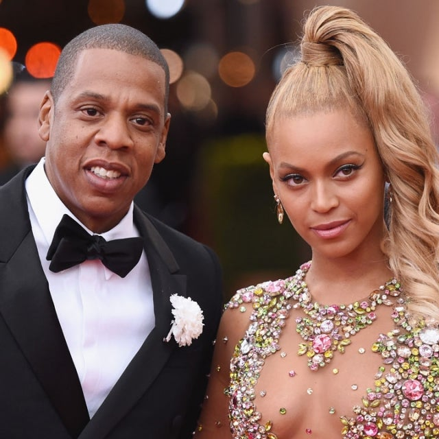 Jay Z and Beyonce at 2015 met gala
