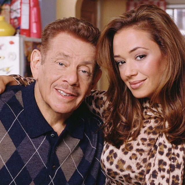 Jerry Stiller and Leah Remini