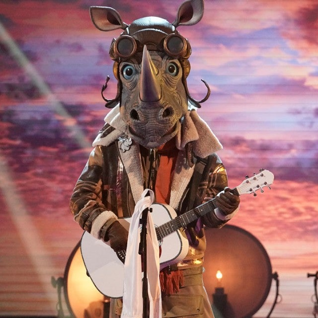 The Rhino on 'The Masked Singer'