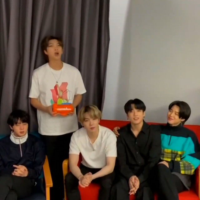 BTS Kids Choice Awards 2020