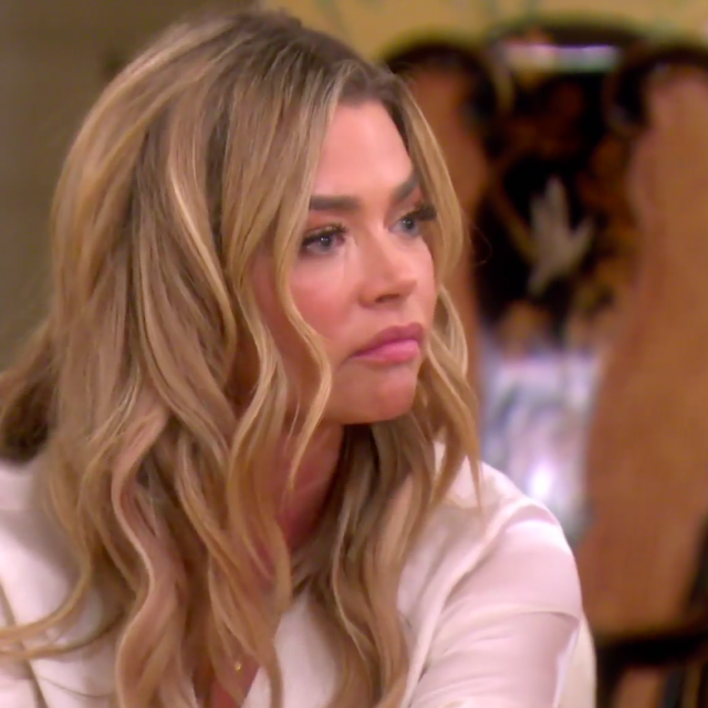 Denise Richards at Erika Jayne's astrology dinner on 'The Real Housewives of Beverly Hills.'