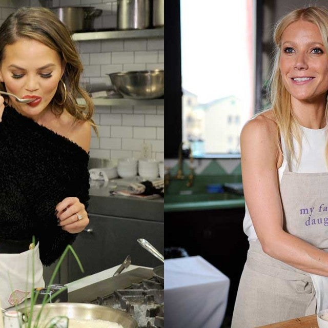Chrissy Teigen and Gwyneth Paltrow