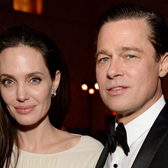 Angelina Jolie and Brad Pitt in 2015