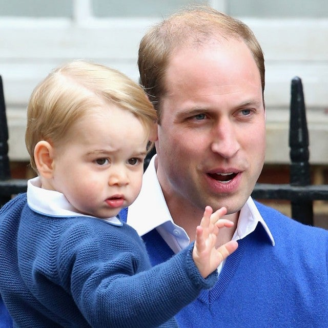 prince george and prince william in 2015