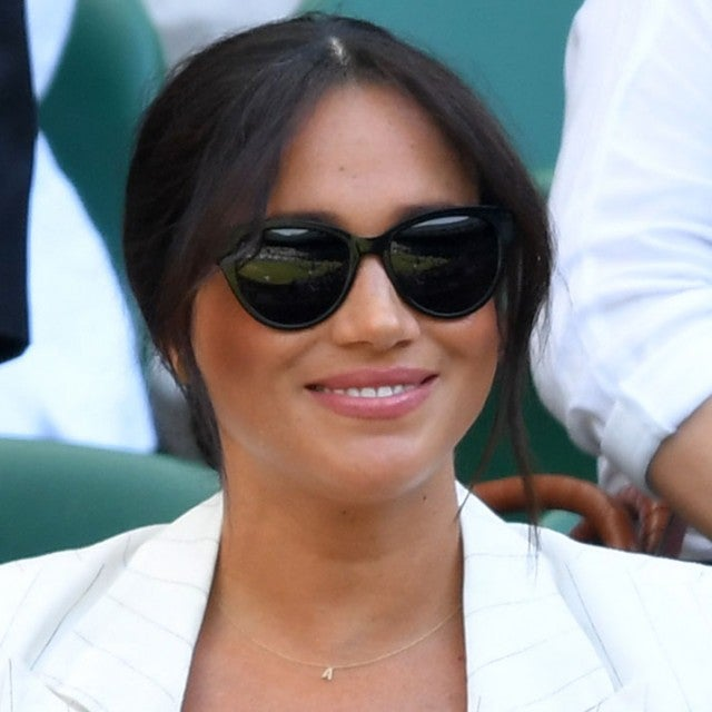 Meghan markle at day 4 of the Wimbledon 2019
