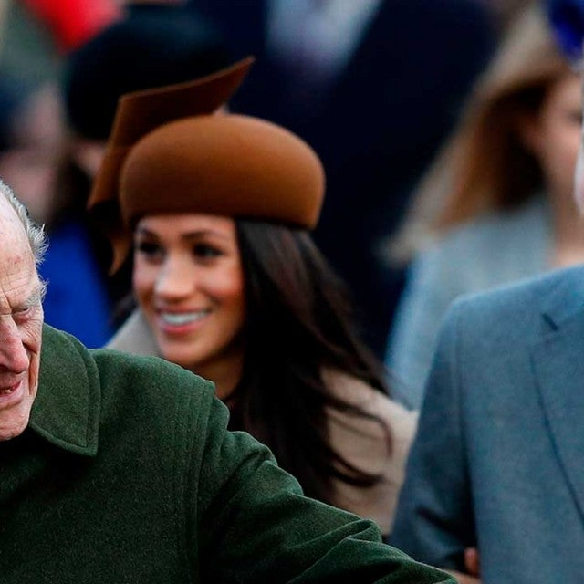 Prince Philip, Meghan Markle and Prince Harry