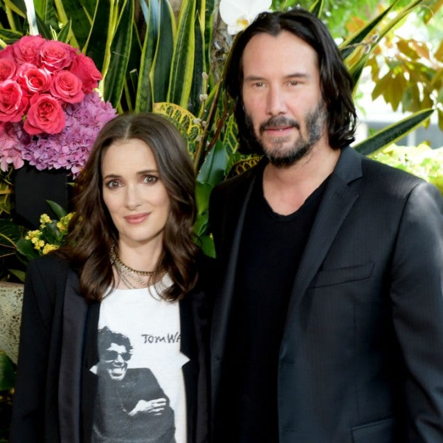 Winona Ryder and Keanu Reeves