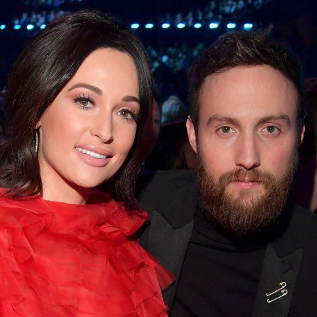 Kacey Musgraves and Ruston Kelly during the 61st Annual GRAMMY Awards