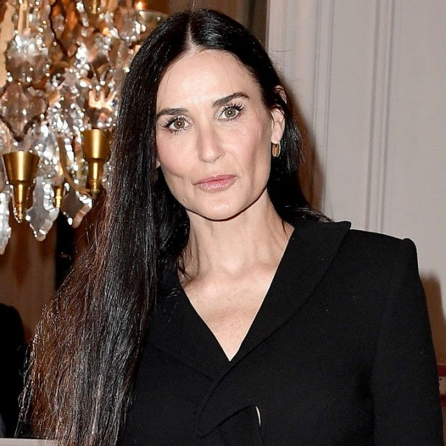 Demi Moore at the Monot show during Paris Fashion Week Womenswear Fall/Winter 2020/2021