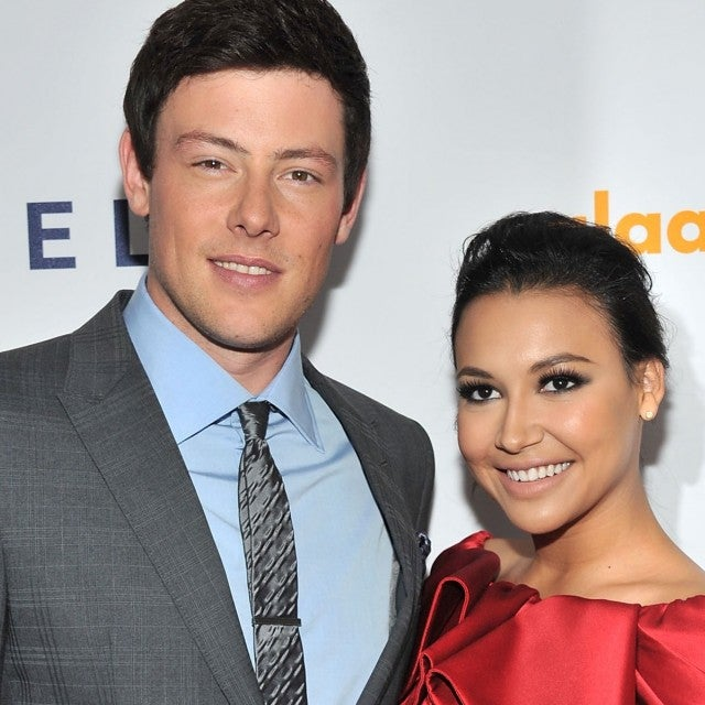 Actors Cory Monteith and Naya Rivera attend the 23rd Annual GLAAD Media Awards presented by Ketel One and Wells Fargo at Marriott Marquis Theater on March 24, 2012 in New York City.