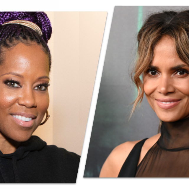 Regina King and Halle Berry