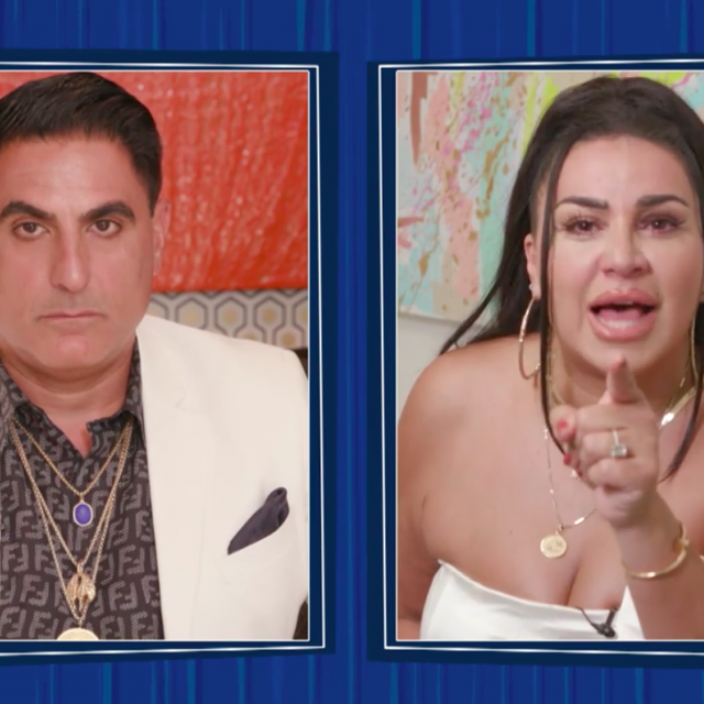 Mercedes 'MJ' Javid breaks down, declaring the end of her friendship with Reza Farahan on part two of the 'Shahs of Sunset' season 8 reunion special.