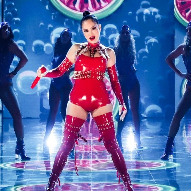 Natti Natasha performs at Premios Juventud 2020