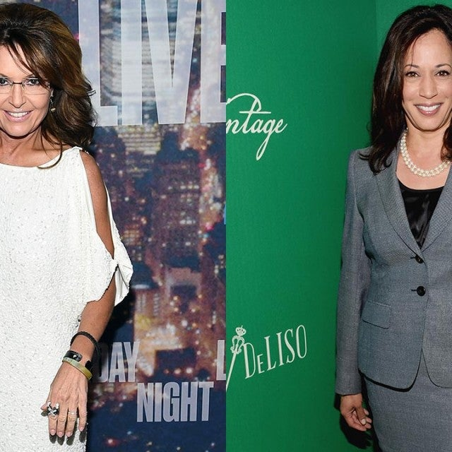 Sarah Palin and Kamala Harris