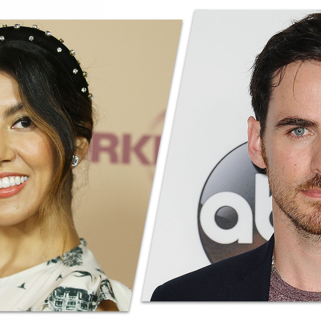 Stephanie Beatriz and Colin O'Donoghue