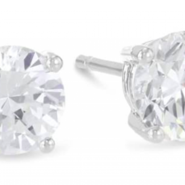 Amazon Cyber Monday 2020 1 carat diamond stud earrings
