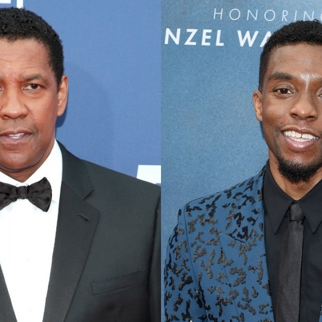 Denzel Washington Chadwick Boseman