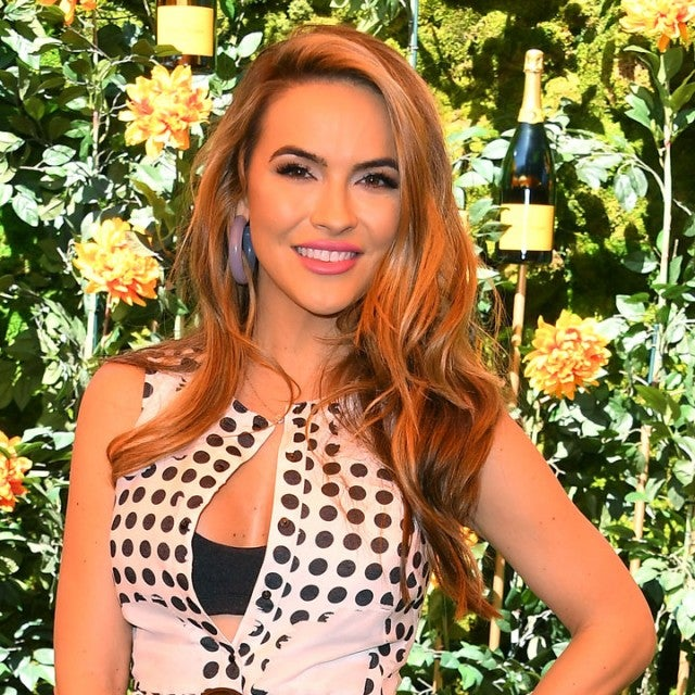 Chrishell Stause at the 10th Annual Veuve Clicquot Polo Classic Los Angeles at Will Rogers State Historic Park on October 05, 2019 in Pacific Palisades, California. (Photo by