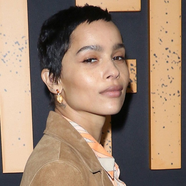 Zoe Kravitz at High Fidelity premiere in nyc