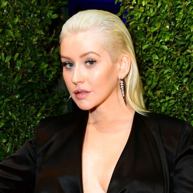 Christina Aguilera at the 2017 American Music Awards