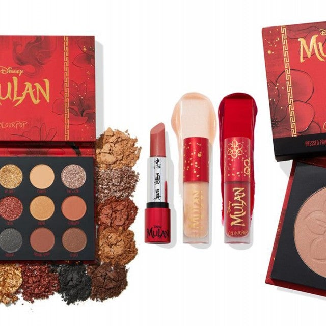 mulan colourpop collection