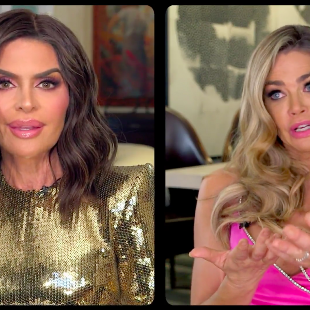 Lisa Rinna and Denise Richards go head to head on 'The Real Housewives of Beverly Hills' season 10 reunion.