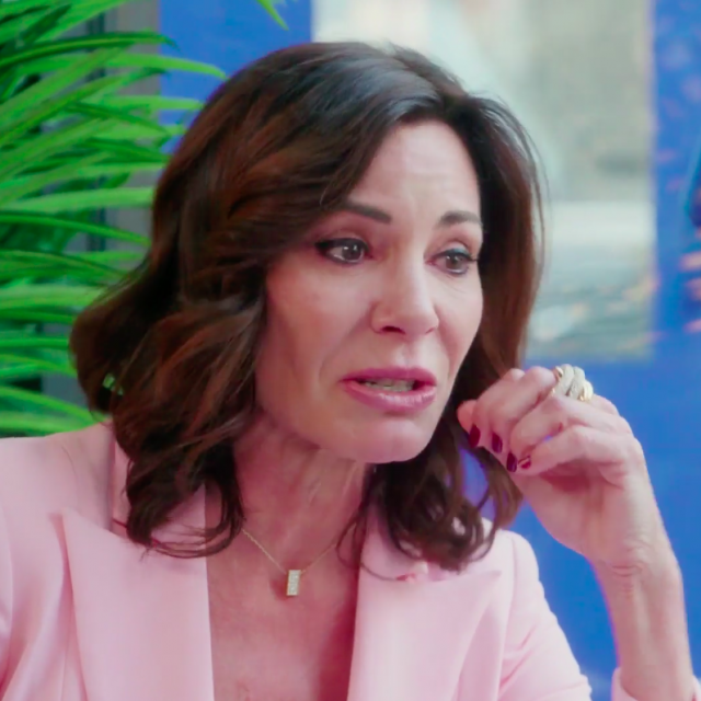 Luann de Lesseps wells up on 'The Real Housewives of New York City.'