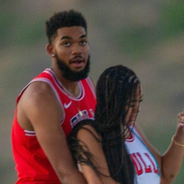 Jordyn Woods Karl Anthony Towns