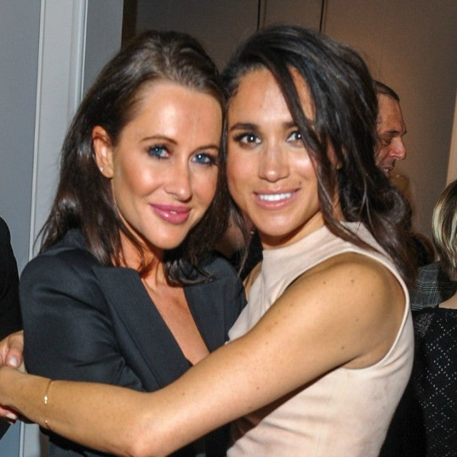 Jessica Mulroney and Meghan Markle