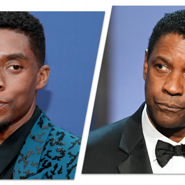 Chadwick Boseman, Denzel Washington