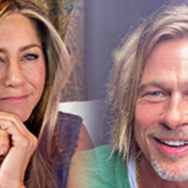 Jennifer Aniston and Brad Pitt Reunite! First Look at 'Fast Times at Ridgemont High' Table Read