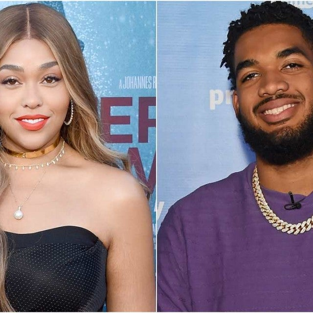 Jordyn Woods Karl-Anthony Towns Split