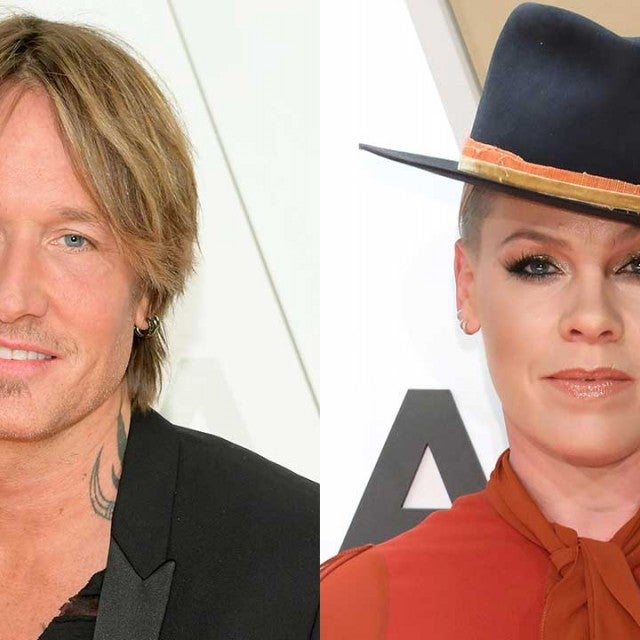 Keith Urban and Pink