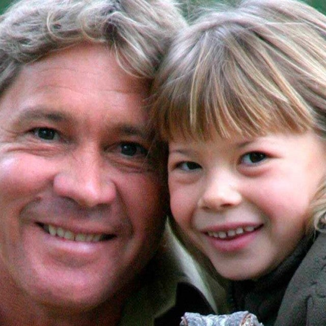Steve Irwin and Bindi Irwin