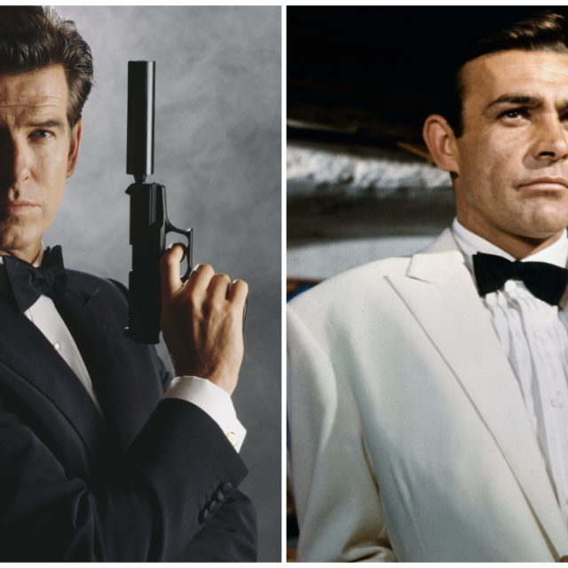 Pierce Brosnan Sean Connery