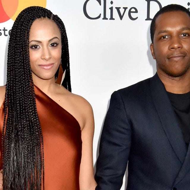 Nicolette Robinson and Leslie Odom Jr. attend the Clive Davis and Recording Academy Pre-GRAMMY Gala and GRAMMY Salute to Industry Icons Honoring Jay-Z on January 27, 2018 in New York City