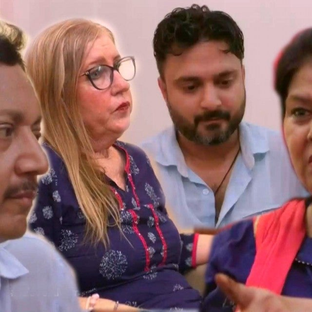 '90 Day Fiance': Sumit and Jenny FACE-OFF With His Parents!
