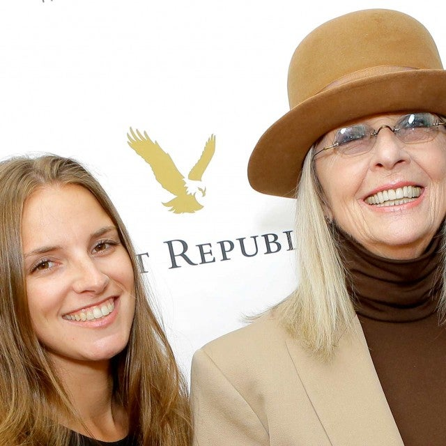 Dexter Keaton and Diane Keaton attend The People Concern's Celebrating Change Gala at Casa Vertigo on April 29, 2018 in Los Angeles, California.