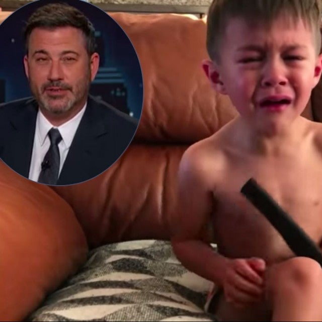 Jimmy Kimmel and kids