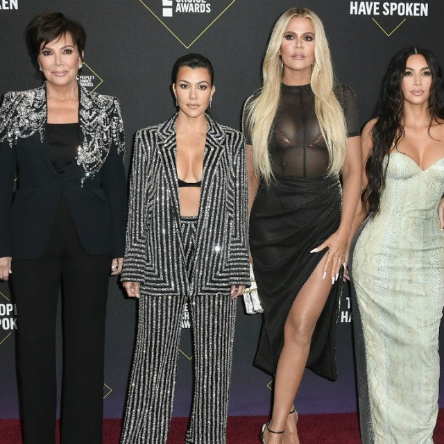 Kris Jenner and family