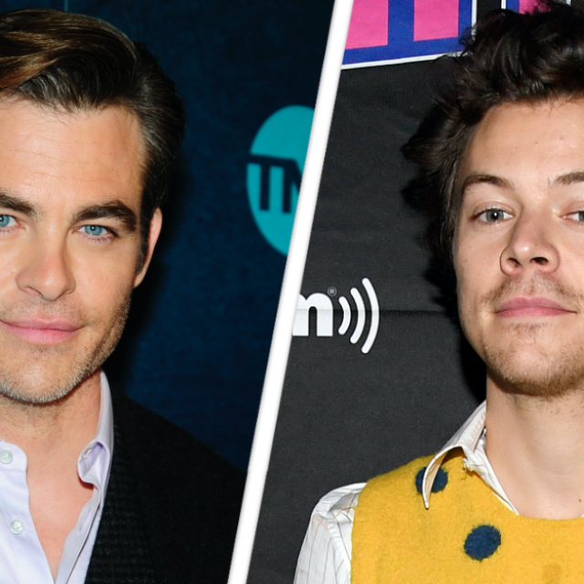 Chris Pine, Harry Styles
