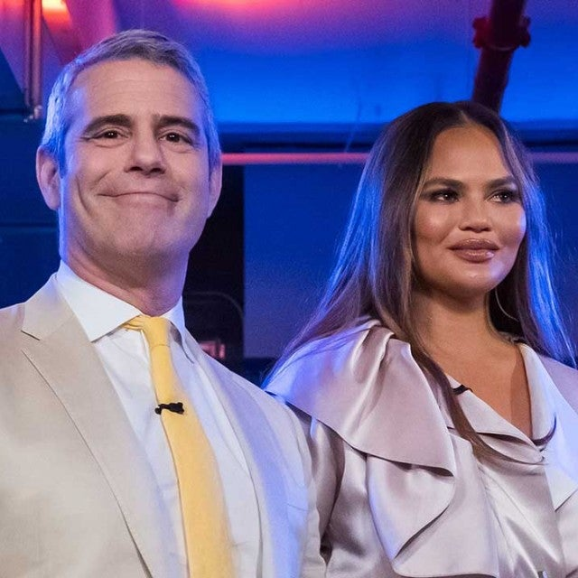 Andy Cohen and Chrissy Teigen
